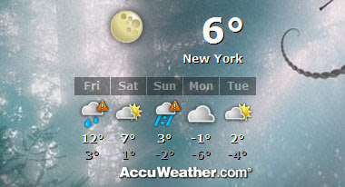 Desktop AIR weather widget