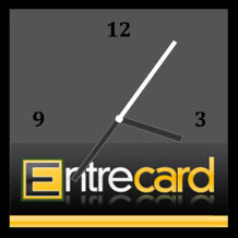 free flash entrecard clock preview