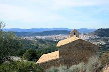 Vista general de l'Alcora desde el Castell de l'Alcalatén.
