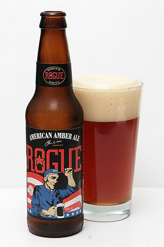 Stay Thirsty - The Beer Blog: Rogue American Amber Ale