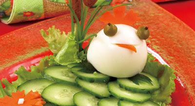 салаты. Украшение салатов.