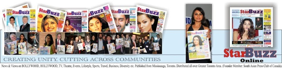 StarBuzzOnline.com Entertainment and Life Style News Generator for South Asians in Toronto