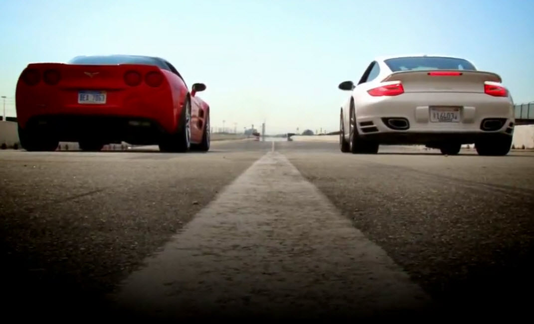 Chevrolet Corvette ZR1 vs Porsche 911 Turbo