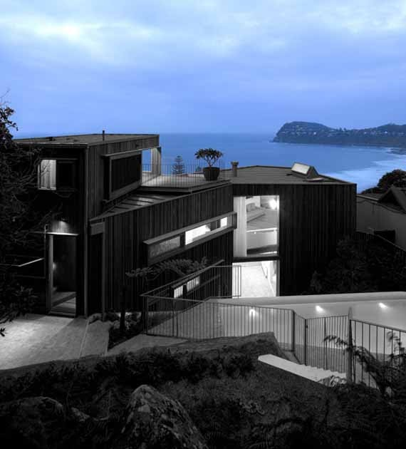 Whale beach house by neeson murcutt architects sidney minimalist home dezine Home dezine