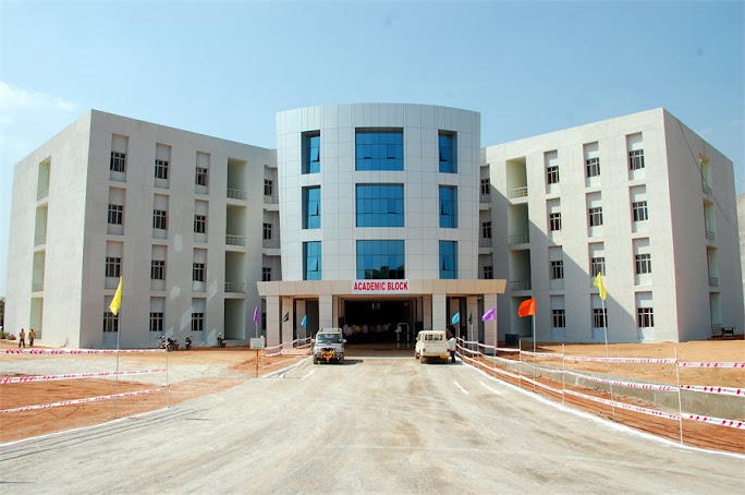 academic block at nuziveedu
