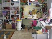 Min arbetsplats på Formtratt/My studio