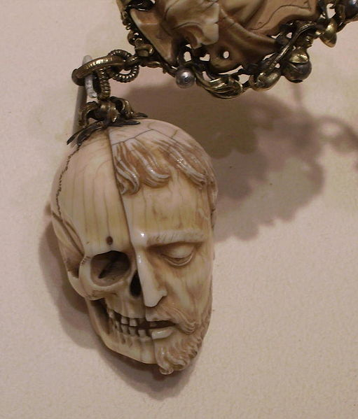 Memento mori , 16th century. Ivory. Metropolitan Museum of Art, New