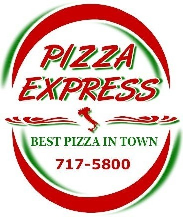 "Pizza Express    ""Best pizza in town!"" 804-7175800"