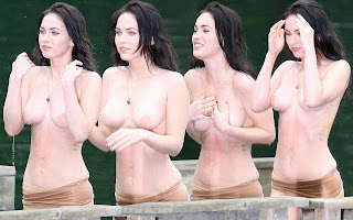 megan fox hot topless