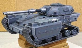 Скачать чертежи бумажной модели танка Chernovan