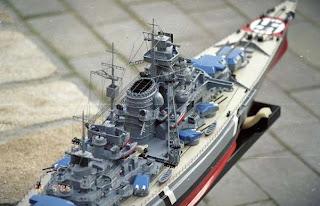 Немецкий линкор Бисмарк