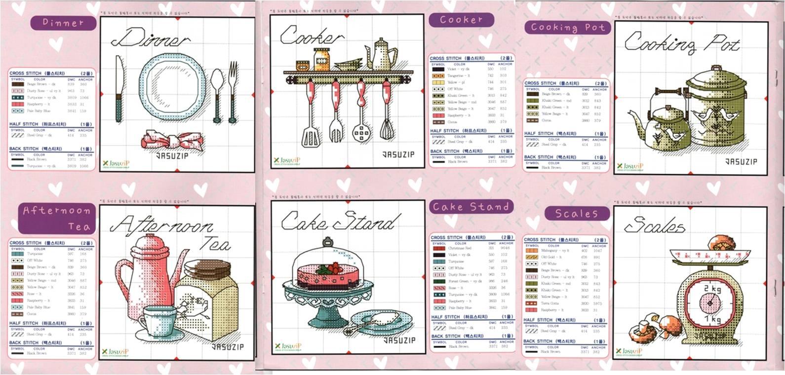 Graficos Punto De Cruz Cocina Gratis   www.imagenesmy.com