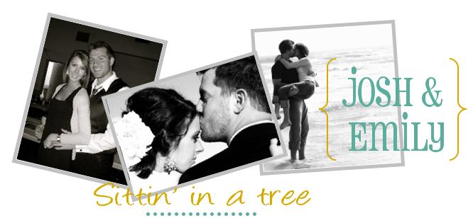 Josh & Emily Sittin' in a Tree