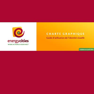 Couverture de la charte graphique d'Energycities
