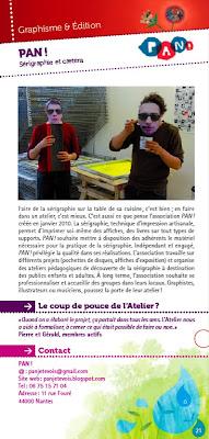 Une page graphisme et édition du guide associatif de l'Atelier des Initiatives
