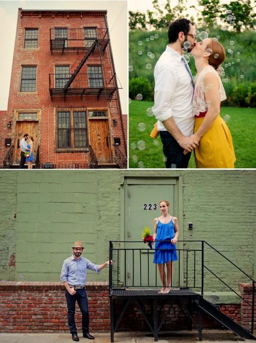 DE LUNARES Y NARANJAS: Unas fotos pre-boda geniales!