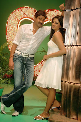 sexy actress Vimala Raman in hot white dress in upcoming Telugu movie Chattam