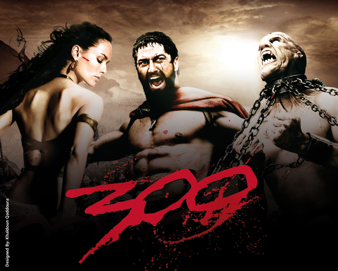 Movie 300 year 2006 genre action fantacy war other wonderful war movie