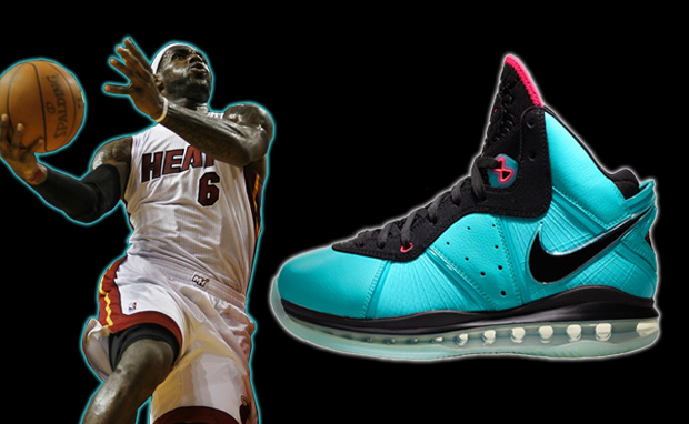"lebron 8 south beach. NIKE LEBRON 8 ""SOUTH BEACH"""