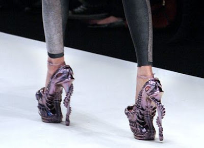 Lady Gaga Alexander McQueen 2010 Shoes Collection