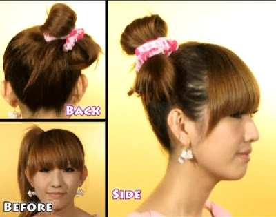 japanese hairstyle tutorial. Labels: Hairstyle Tutorials