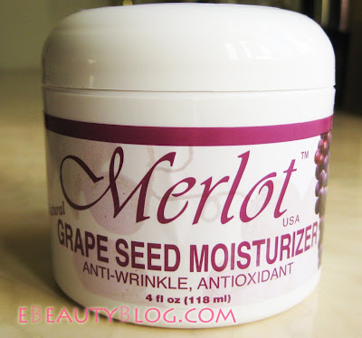 Merlot Grapeseed Moisturizer Review