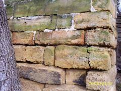 beautiful old stone chimney