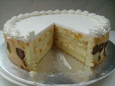 Yochana's Cake Delight! : Mango Coconut Mousse Cake
