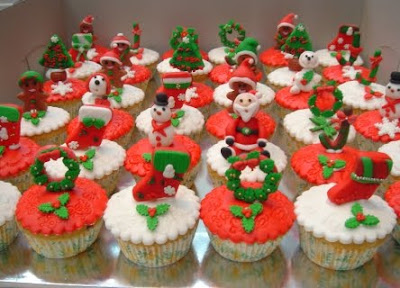 christmas cupcake decorations