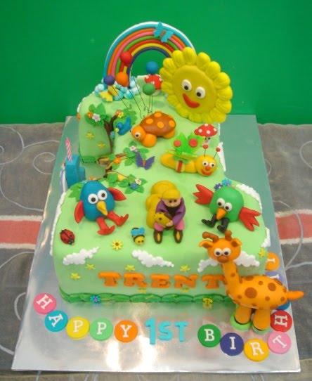 Cake Design Baby Tv : Yochana s Cake Delight! : December 2010