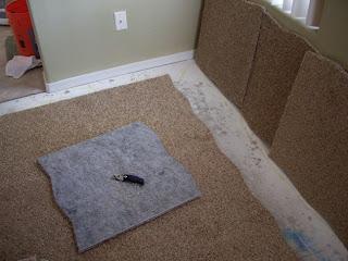 Rose Vignettes We Installed Legato Carpet Tiles In Our Master - Carpet tiles for bedroom