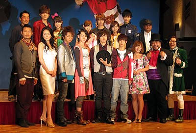 W, Goseiger Movie Press Conference