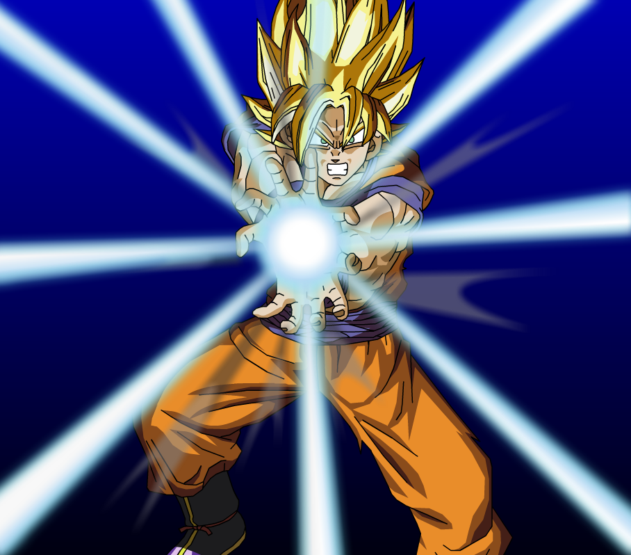 Random Spam...? - Page 3 SSJ_Goku___Kamehameha_by_eggmanrule