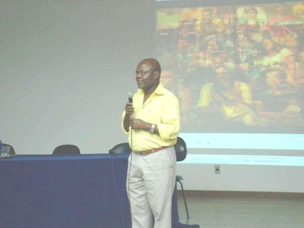 2008 - Prof. Pedro - Seminário Josué de Castro: um cidadão centenário