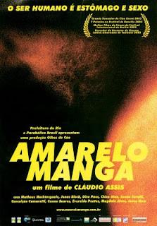 Filme Poster Amarelo Manga DVDRip RMVB Nacional