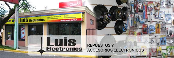 LUIS ELECTRONICS repuestos y accesorios electronicos