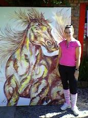 Arte/Art - Pintura de Cavalo / Horse picture