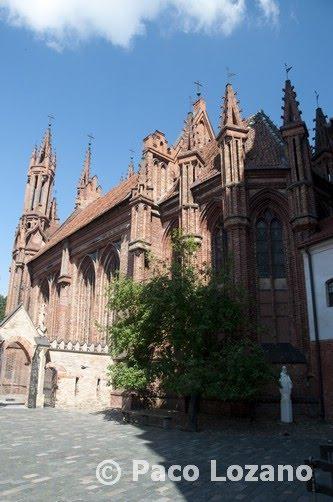 Iglesia de Santa Ana en Vilna