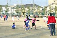 草津でサッカー大会