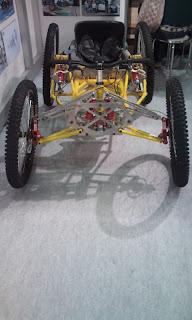 オフロード車椅子