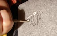 fuego plata filigrana1   Dibujar con filigrana