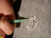 fuego plata filigrana2   Dibujar con filigrana