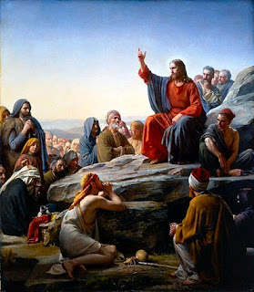 Jesus Blessed the poor in spirit for their is the kingdom of heaven Image Free Jesus Christ Sermon on Mount Wallpapers and Photos