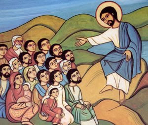 Beautiful Paint of Jesus Christ Sermon on the Mount Image Free Jesus Christ Sermon on Mount Wallpapers and Pictures