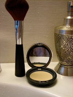 Waterproof Body Makeup on All In One Face Base 01 Powder And Brush From The Body Shop