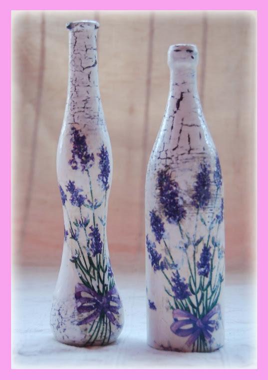 Lawendowe buteleczki