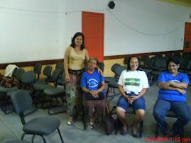 Reunião de integração com mães educadoras.
