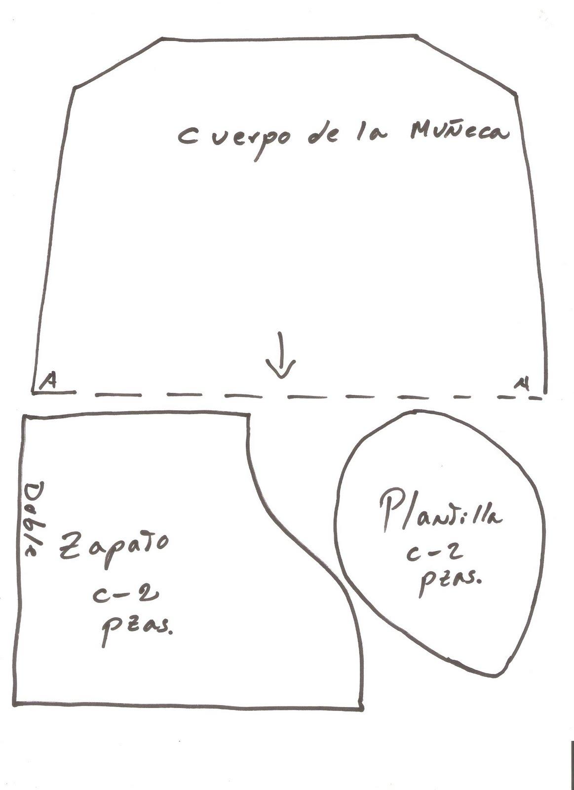 Taller De Sonia Lenceria De Baño:Patrón+de+Muñeca+de+Tocador+01jpg