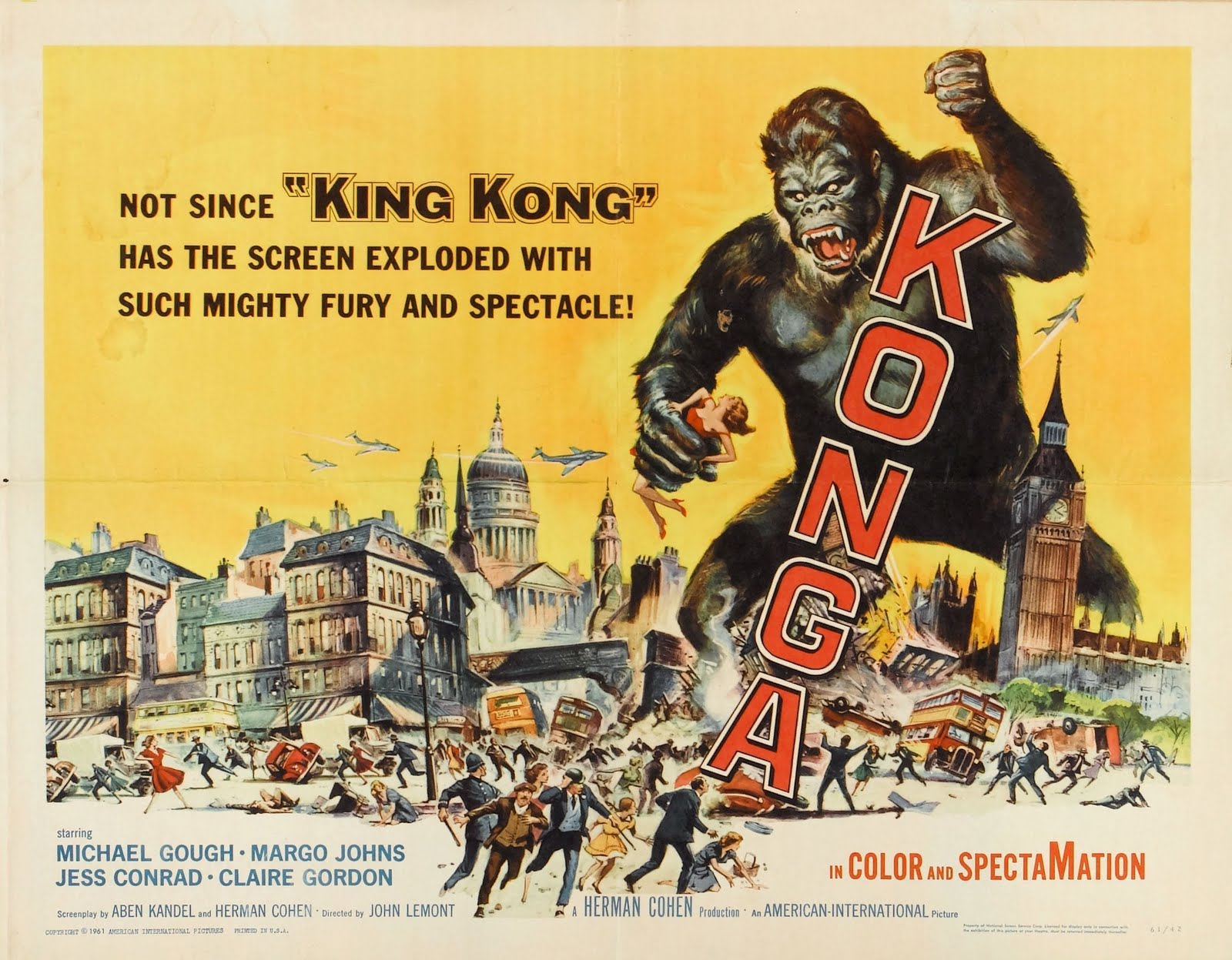 BLACK HOLE REVIEWS: KONGA (1961) - filming location found!