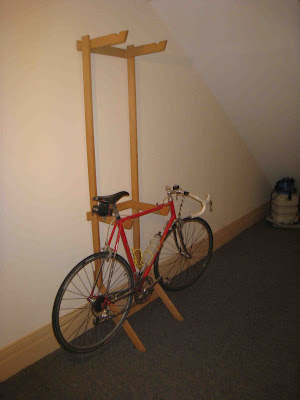 Cycle Fun Montreal: Indoor winter bike storage